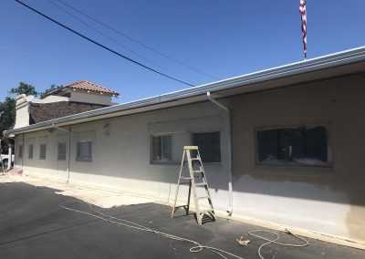 Commercial Exterior Painting Before