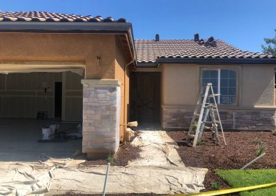 Residential Exterior House Painting Before